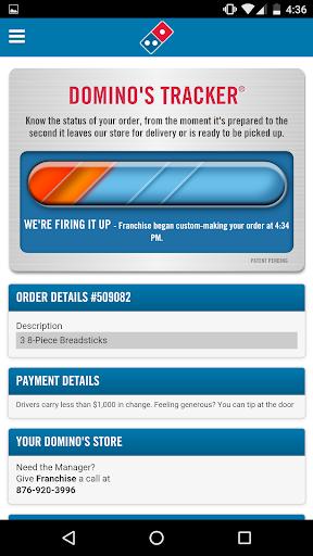 Domino's Pizza 3.5.0 Screenshots 4