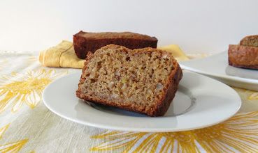 Photo: Apple and Cinnamon Walnut Bread - A healthy whole wheat bread made with fresh apples and walnuts.  http://www.peanutbutterandpeppers.com/2013/02/21/apple-and-cinnamon-walnut-bread/  #apple   #quickbread   #flaxseed   #cinnamon   #walnuts   #healthybread