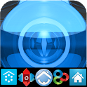 BLUE LUXURY (adw apex nova go) icon