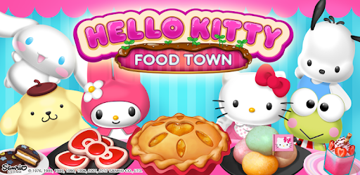 Hello Kitty Food Town Jeux (apk) téléchargement gratuit pour Android/PC/Windows screenshot