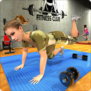 Virtual Girls Gym 3D: Fitness Training