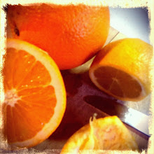 Photo: Citrus delivered by neighbor while I was sick.