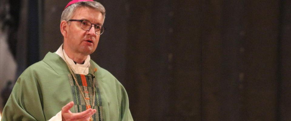 Gottesdienst zum Weltfriedenstag mit pax christi-Präsident Peter Kohlgraf