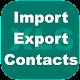 Export Import Excel Contacts (app)