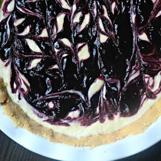 Lemon Blueberry Icebox Cheesecake