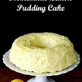 Homemade Lemon Pudding Cake.