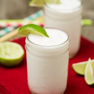 Creamy Frozen Coconut Margaritas