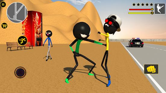 App Spider Stickman Games : Las Vegas City Gangster APK for Windows Phone