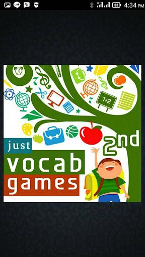 English Vocab Games 2nd