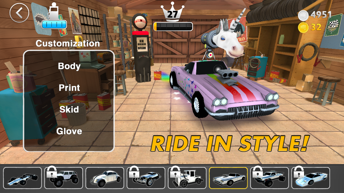 Nitro Punch Car Game- screenshot