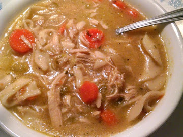 Momma's Chicken  Noodle  Soup Recipe