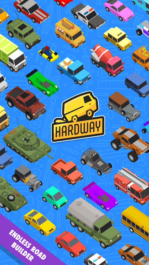 Hardway - Endless Road Builder- screenshot