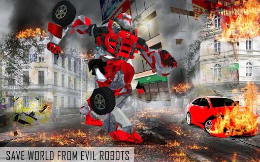 Super Shark Robot Wars 2019 - 3D Transformer Game 7.0 screenshots 1
