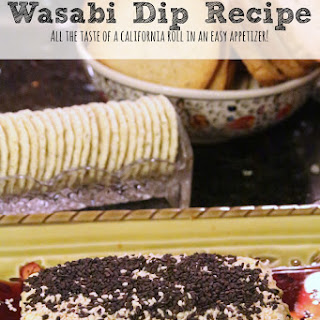 Wasabi Dip Recipe | Crowd-Pleasing Appetizer!