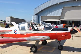 """Photo: quelques avions école """"vintage"""", Bulldog T1, DHC-1 Chipmunk, Piper PA 18, ...."""