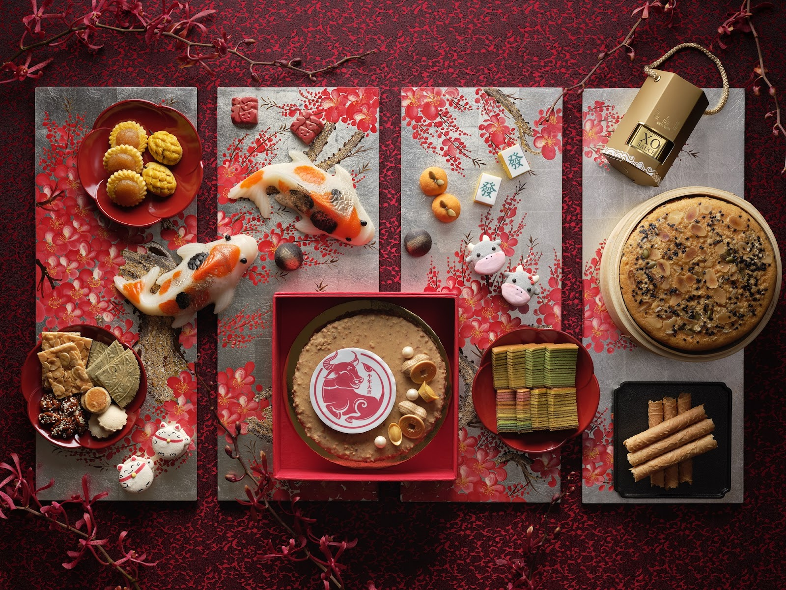 Auspicious Lunar New Year Takeaway Treats