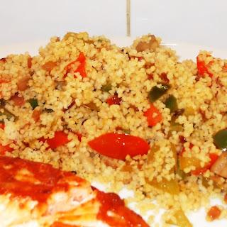 Speedy Mediterranean Vegetable Couscous.