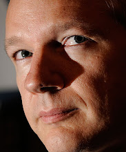 """Photo: Wikileaks founder Julian Assange looks on during a press conference at the Geneva Press Club on November 4, 2010 in Geneva. Assange called on the United States to open up """"instead of covering up"""" following the website's release of secret US documents allegedly showing abuse in the Iraq war.  WikiLeaks, which portrays itself as a whistle-blowing media outlet, released last week an unprecedented 400,000 classified US documents on the Iraq war, and in July posted 77,000 secret US files on the Afghan conflict.  AFP PHOTO / FABRICE COFFRINI (Photo credit should read FABRICE COFFRINI/AFP/Getty Images)ĀĀĀĀȀȀ̀̀ȀȀȀȀȀȀȀȀȀȀȀԀѥ"""