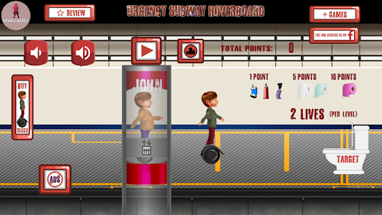 Urgency subway hoverboard- screenshot thumbnail
