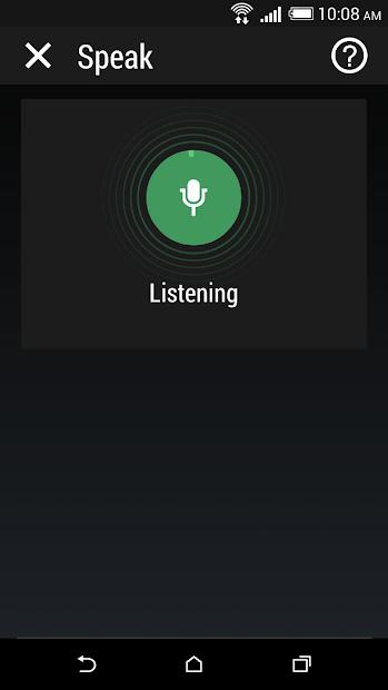 HTC Speak screenshot 1