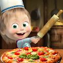 Masha and the Bear Pizzeria Game! Pizza Maker Game icon