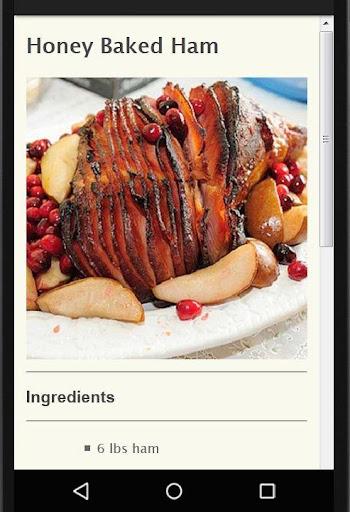Holiday Party Recipes screenshot 13