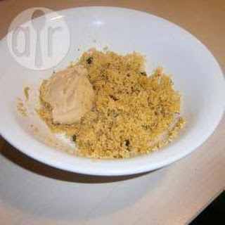 Moroccan Couscous and Hummus.