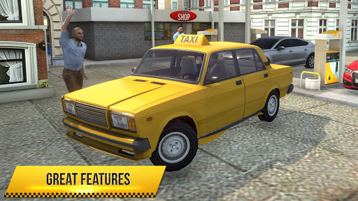 Taxi Simulator 2018  screenshots 14