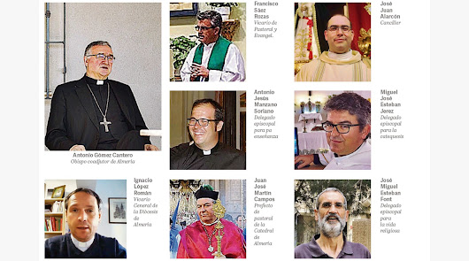 Arranca la era Gómez Cantero: el obispo nombra a su núcleo duro