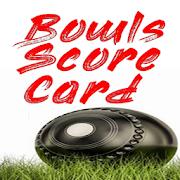 Bowls Score Card