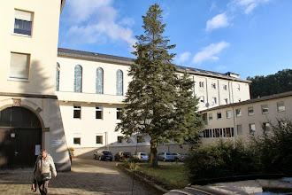 Photo: Thiefenthal indgang. Det store kapel ses øverst i midten.