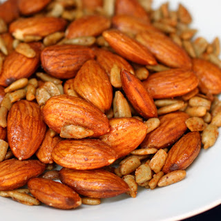 Slow Cooker Sweet & Spicy Nuts
