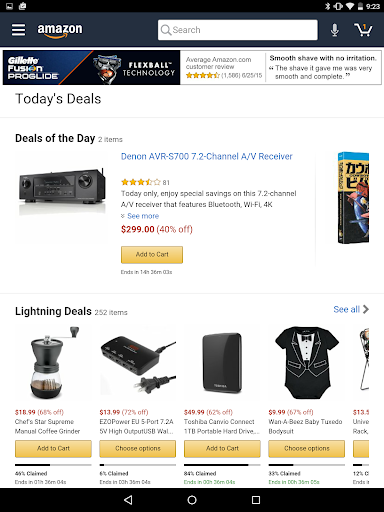 Amazon for Tablets screenshot 4