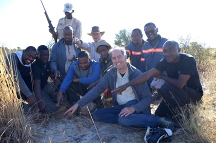 Scientists from Wits University and colleagues from Botswana and other countries found the meteorite after a long search over a wide area.