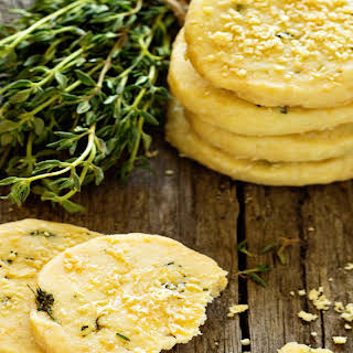 Rosemary, Salt & Oat Biscuits.
