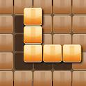 Wooden 100 Block Puzzle: Wood Hexa Star Gem icon