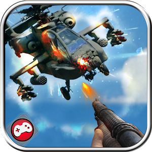 Army Helicopter Gunship Gunner