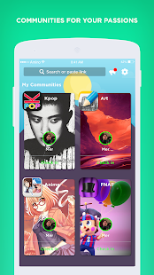 Amino: Communities and Chats- screenshot thumbnail