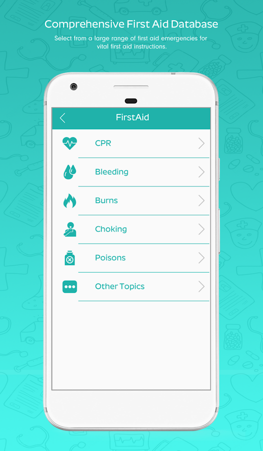 iFirstAid Lite- screenshot
