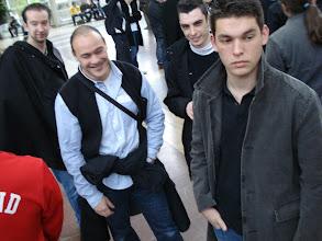 Photo: De gauche à droite : Epaule de Willy, Luigi, Raph, Seb, Hugo