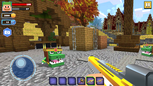 Fire Craft: 3D Pixel World apktreat screenshots 1