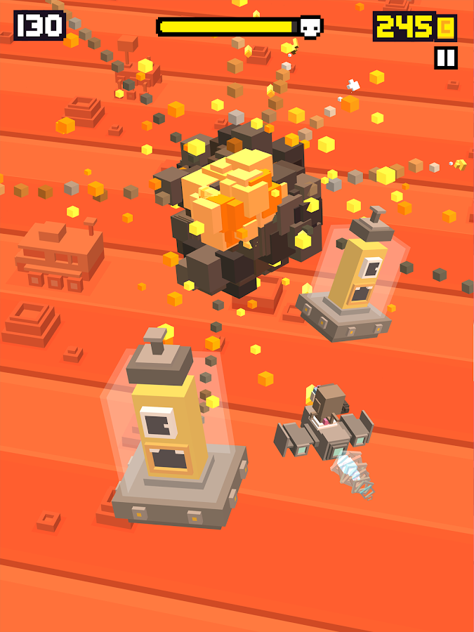 Shooty Skies - Arcade Flyer- screenshot