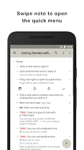 Orgzly: Notes & To-Do Lists - náhled