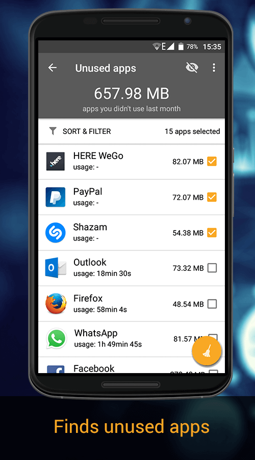 WashAndGo Mobile Cleaner- screenshot