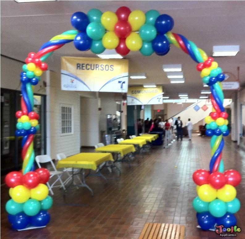 Balloon decorating ideas android apps on google play for Home decorations with balloons
