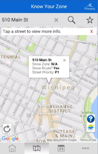 Winnipeg - Know Your Zone- screenshot thumbnail