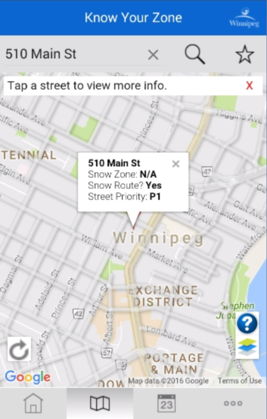 Winnipeg - Know Your Zone- screenshot