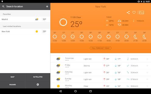 Weather 14 days - screenshot thumbnail