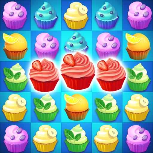 Cupcake Candy Island