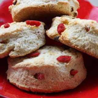 Goji Berry British Style Scones